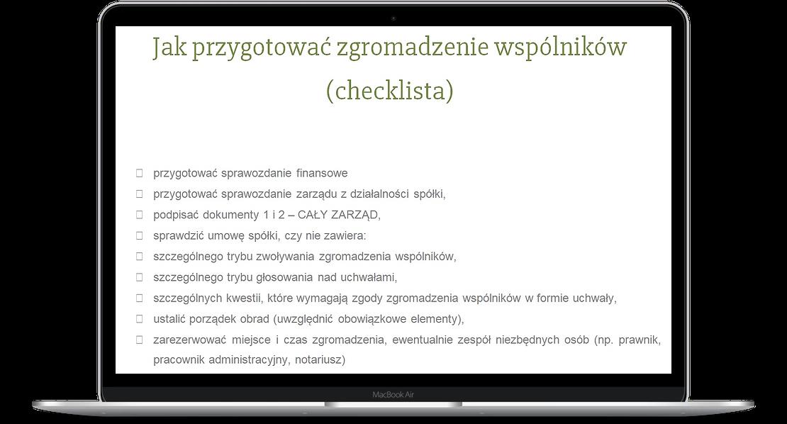 Jak zorganizować zgromadzenie wspólników spółki z o.o.